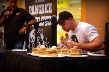 Flest spiste pandekager