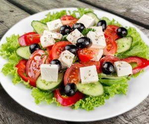 Lækker græsk salat