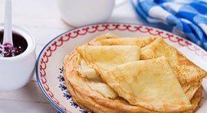 Pandekager uden mælk